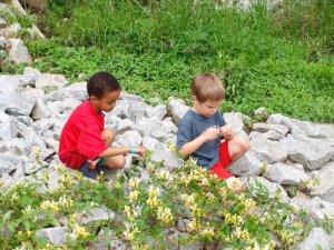 Preschool Boys Playing
