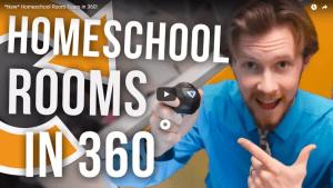 Homeschool Rooms in 360 Video